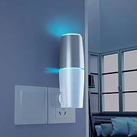 Мини-очиститель воздуха дезинфектор с ультрафиолетовой бактерицидной лампой TURBO CLEAN-101