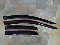 Дефлекторы окон (ветровики), комлект. (Cobra Tuning) - S-Max - Ford - 2006 F31506