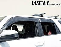 Дефлектори вікон Premium серії, к-т 4 шт (Wellvisors) - 4Runner - Toyota - 2010 3847TY049