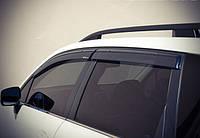 Дефлектори вікон з метал чорним молдингом, к-т 4 шт (Wellvisors) - Forester - Subaru - 2014 3847SU003