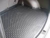 Коврики резиновые в багажник черные (NovLine) - Land Cruiser Prado - Toyota - 2009