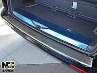 Накладка заднего бампера с загибом (Nataniko) - T5 - Volkswagen - 2003 ZVW29к