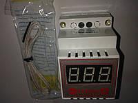 Цифровой терморегулятор термопарный ЦТР-2Т с термопарой, до +400°С