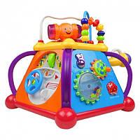 Детский игровой развивающий центр игрушка Мультибокс (лабиринт, пирамида) 806