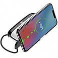 Power Bank Hoco S29 Nimble Mobile Power 10000Mah (С Кабелем Lightning) White Повербанк для Телефона, фото 2