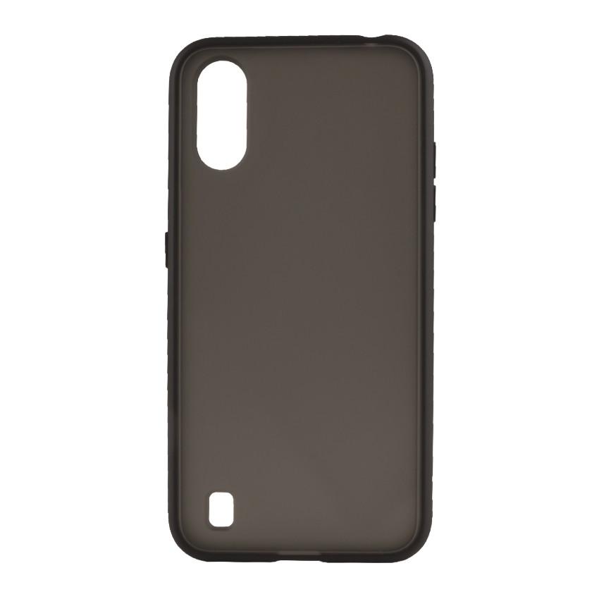 Чехол накладка Goospery Case для Samsung A01-2020/A015 Black