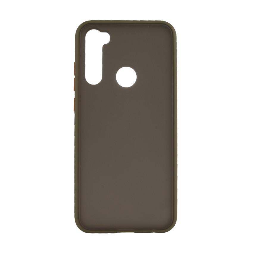 Чехол накладка Goospery Case для Xiaomi Redmi Note 8T Khaki