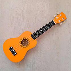 """Укулеле сопрано 21"""", orange"""