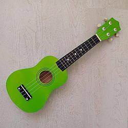 "Укулеле сопрано 21"", apple green"