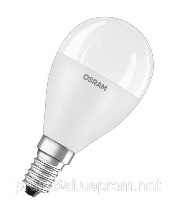 Лампа светодиодная OSRAM LED Value P60 кулька 7W 806Lm 4000K E14