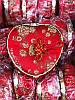 Декоративная Шкатулка Коробочка для Украшений Сердце в Упаковке 5 шт, фото 3