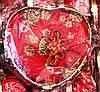 Декоративная Шкатулка Коробочка для Украшений Сердце в Упаковке 5 шт, фото 4