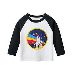 Лонгслив для мальчика Полет в космос 27 KIDS (90)