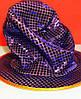 Карнавальная Шляпа Головной Убор Цилиндр Клоуна с Пайетками для Вечеринки, фото 5
