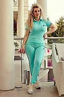 Женский спортивный костюм большого размера, фото 1
