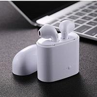 Беспроводные Наушники I7 TWS с Боксом AirPods Хит ГАРНИТУРА i8,i7 i12 i16 EarPods навушники Высококачественные