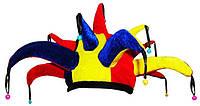 Карнавальная Шляпа Головной Убор Колпак Шута Скоморох для Вечеринки, фото 1