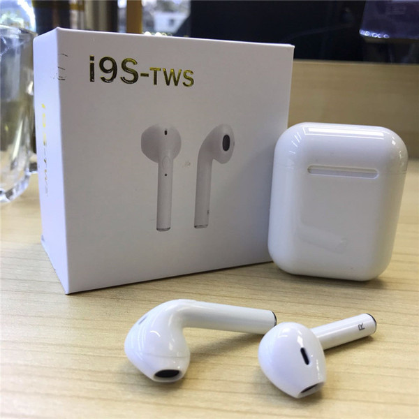 Беспроводные Наушники I9 TWS с Боксом AirPods Хит ГАРНИТУРА i8,i7 i12 i16 EarPods навушники Android, IOS, Ipad