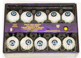 Гірлянда Музична Очі 270 См Гірлянда Очі Декор На Хеллоуїн