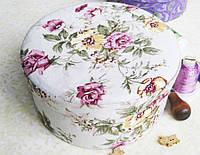 Декоративная Шкатулка для Украшений Весенние Цветы Пудреница в Ассортименте в Упаковке 10 шт, фото 1
