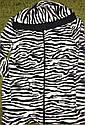 Очень мягенький флисовый домашний костюм с принтом зебра. Размер L-XL, фото 4