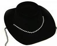 Карнавальная Шляпа Шериф Головной Убор Шерифа Пластик для Вечеринки, фото 1