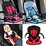 Автомобильное детское кресло Multi Function Car Cushion в машину Хит автокресло 5 надежных креплений, фото 6