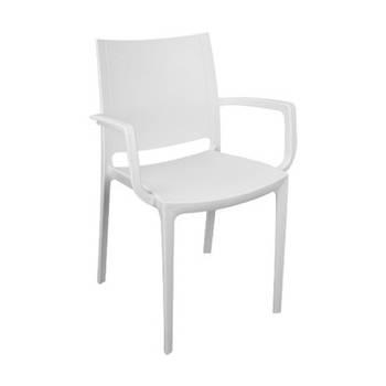 Кресло Irak Plastik Lara белый