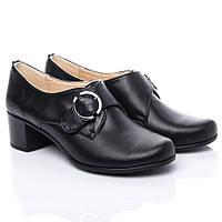 Туфли La Rose 2191 36(23,7 см) Черная кожа