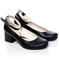 Туфли La Rose 2247 36(23,6 см) Черная кожа