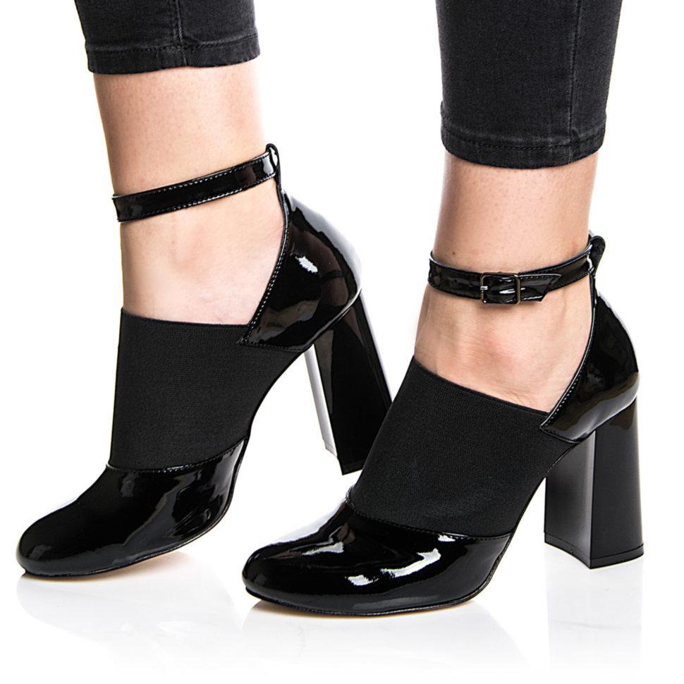 Туфли Rivadi 2246 36(24,2см) Черный лак