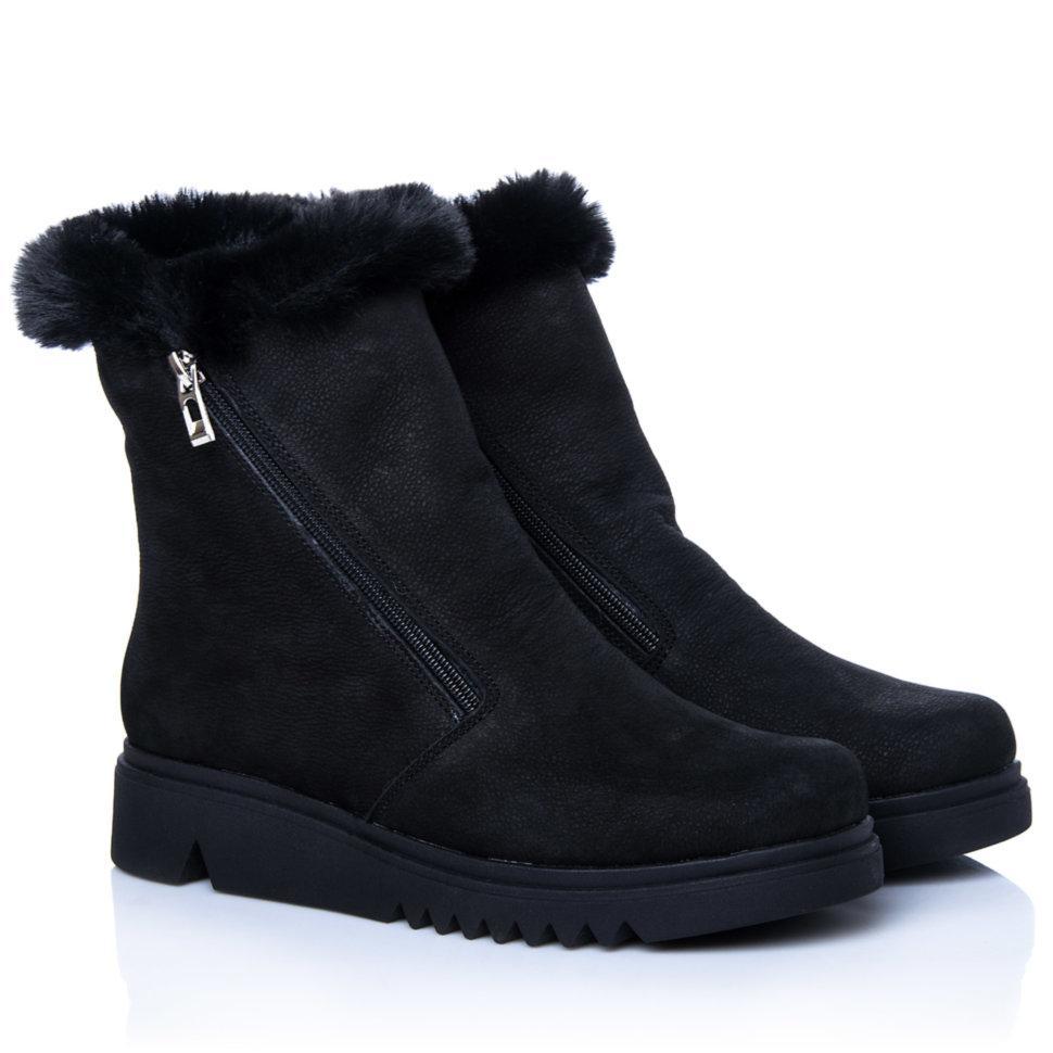 Ботинки La Rose 2269 36(23,4см) Черный нубук