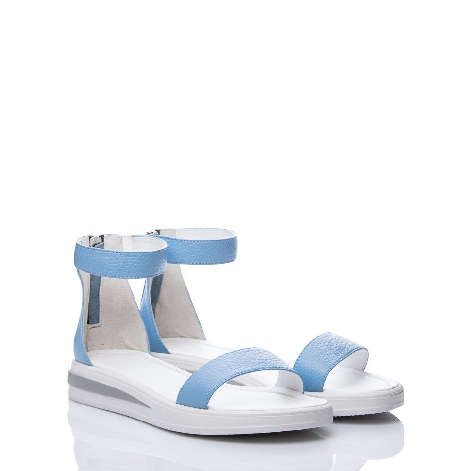 Сандали La Rose 2100 36 (23,6см ) Голубая кожа флотар