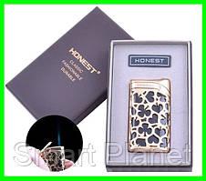 Зажигалка в Подарочной Упаковке HONEST - (резной узор)