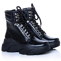Ботинки La Rose 2270 36(23,4см) Черная кожа, фото 1