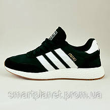Кроссовки Мужские Adidas Iniki Runner Boost Чёрные Адидас (размеры: 46) Видео Обзор, фото 2