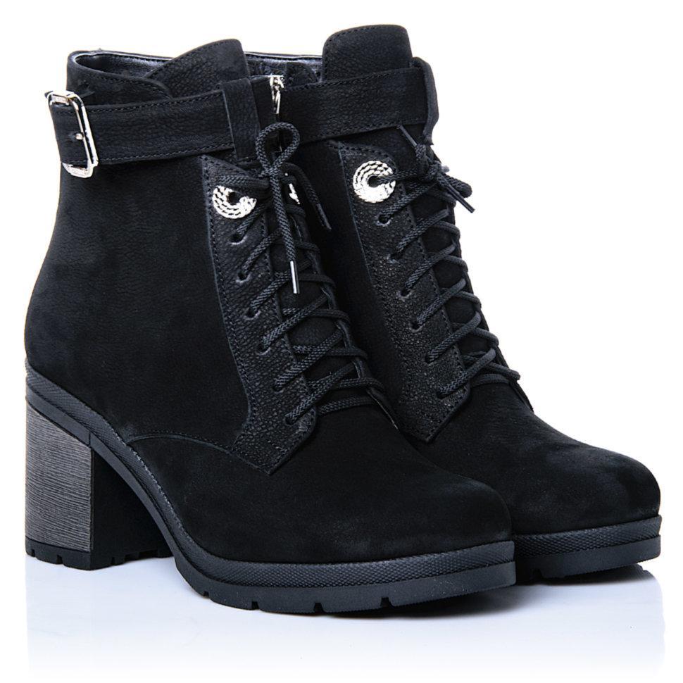 Ботинки La Rose 2274 38( 25,2 см) Черный нубук