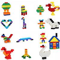 Детский блочный конструктор типа Лего Wan Ge с мелкими деталями, 1000 предметов