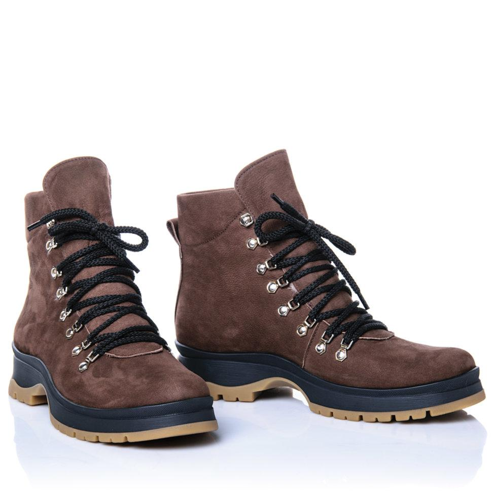 Ботинки Rivadi 2276 36(23,4см) Коричневый нубук