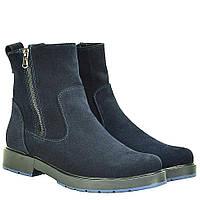 Ботинки La Rose 2038 36(23см ) Синяя замша, фото 1