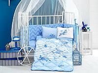 Одеяло хлопковое  детское в  кроватку 90*145 ( TM Aran Clasy) Sıper Wings, Турция