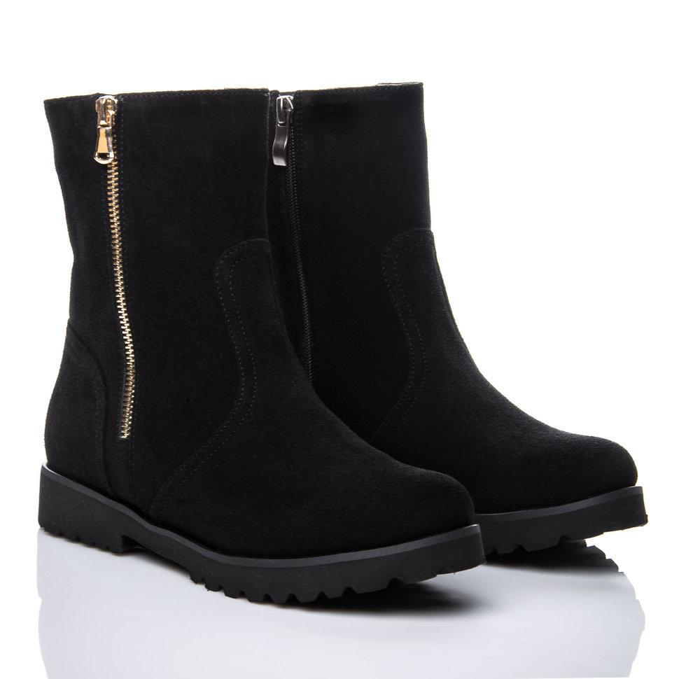 Ботинки La Rose 463 36(24,5см) Черная замша