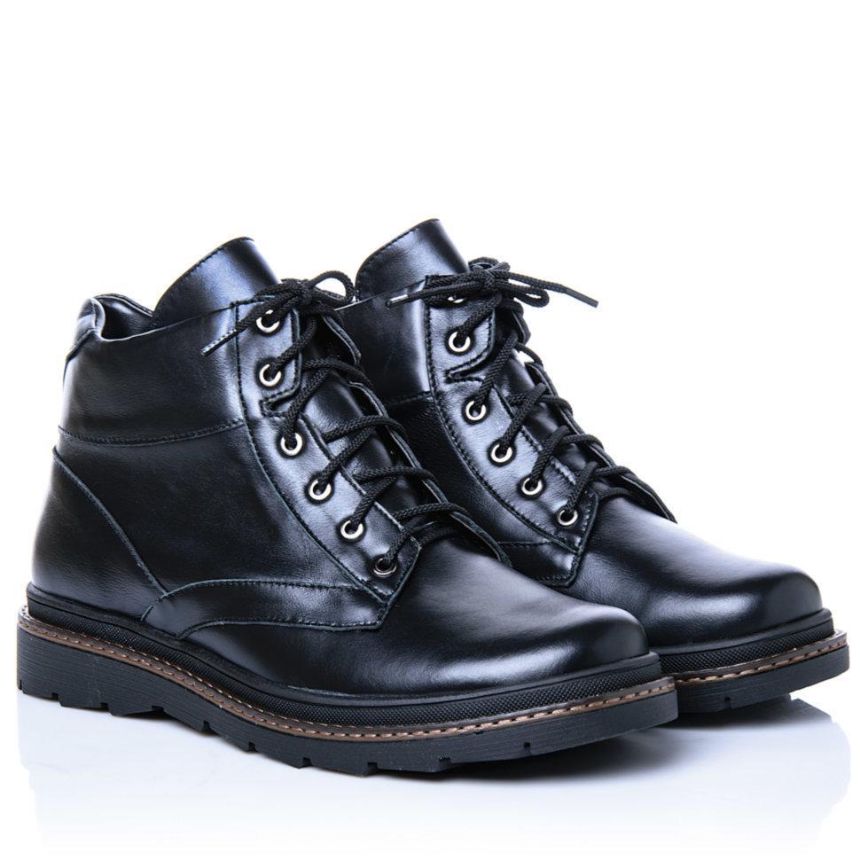 Ботинки La Rose 1092 45(29,8см ) Черная кожа