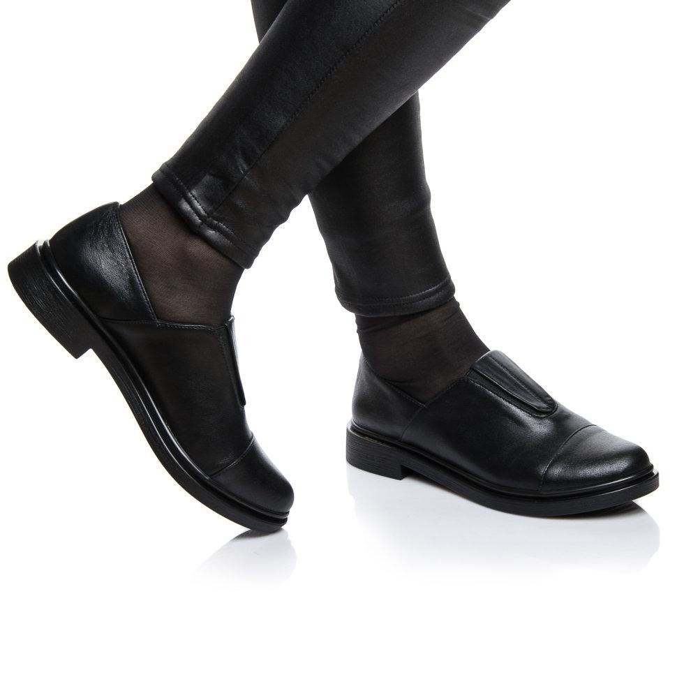 Туфли Rivadi 2121 41(27см) Черная кожа блеск