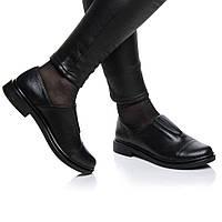 Туфли Rivadi 2121 41(27см) Черная кожа блеск, фото 1