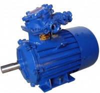 Электродвигатель взрывозащищенный АИММ 160S8 7,5 кВт 1000 об./мин.