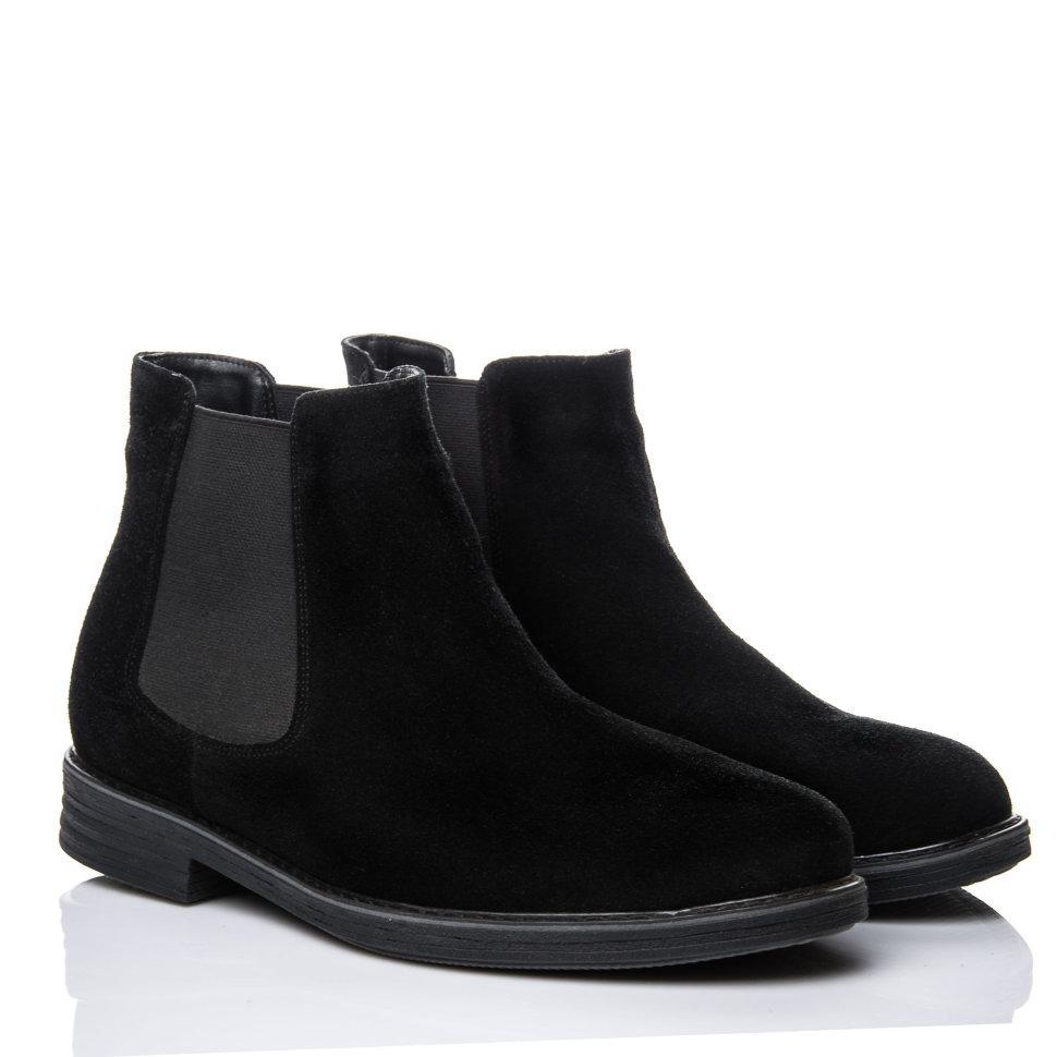 Ботинки La Rose 1052 41( 27,7см) Черная замша
