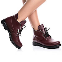 Ботинки Rivadi 2139 36(24см) Бордовая кожа, фото 1