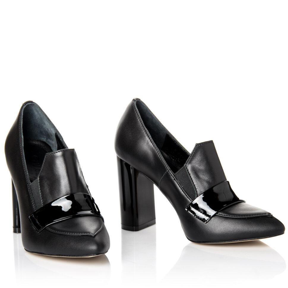 Туфли Rivadi 2303 36(23,5см ) Черная кожа