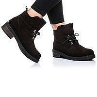 Ботинки Rivadi 2146 36(24см) Коричневая замша, фото 1